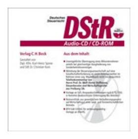 DStR Audio-CD