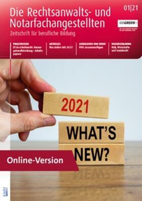 Die Rechtsanwalts- und Notarfachangestellten Online | Datenbank