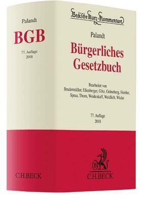 Bürgerliches Gesetzbuch: BGB - Vorauflage, kann leichte Gebrauchsspuren aufweisen. Sonderangebot ohne Rückgaberecht. Nur solange der Vorrat reicht.