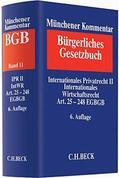 Münchener Kommentar zum Bürgerlichen Gesetzbuch BGB Bd. 11: Internationales Privatrecht II, Internationales Wirtschaftsrecht Art. 25 - 248 EGBGB - Vorauflage, kann leichte Gebrauchsspuren aufweisen. Sonderangebot ohne Rückgaberecht. Nur so lange der Vorrat reicht.