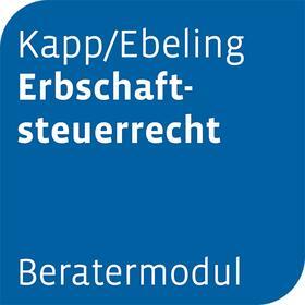 Beratermodul Kapp/Ebeling Erbschaftsteuerrecht   Datenbank