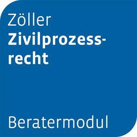 Beratermodul Zöller Zivilprozessrecht | Datenbank