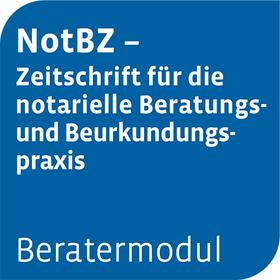 Beratermodul NotBZ - Notarielle Beratungs- und Beurkundungspraxis | Datenbank