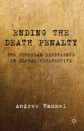 Hammel | Ending the Death Penalty | Buch