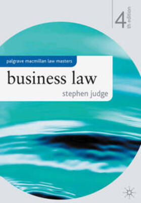 Judge | Business Law | Buch