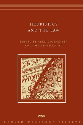 Gigerenzer / Engel | Heuristics and the Law | Buch