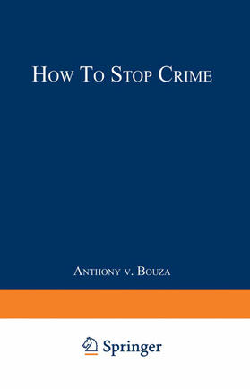 Bouza | How to Stop Crime | Buch