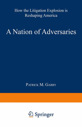 Garry   A Nation of Adversaries   Buch