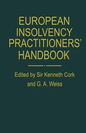 Cork | European Insolvency Practitioners' Handbook | Buch