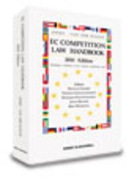Woude / Jones   EC Competition Law Handbook 2010   Buch