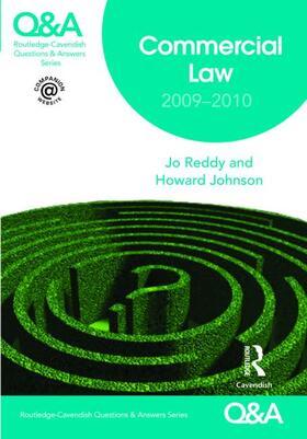Reddy / Reddy / Johnson | Q&A Commercial Law 2009-2010 | Buch