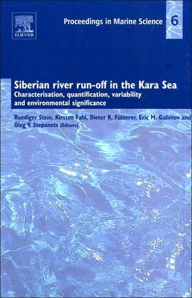 Siberian river run-off in the Kara Sea
