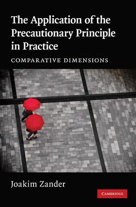 Zander | The Application of the Precautionary Principle in Practice | Buch