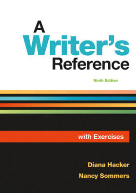 Hacker/Sommers | A Writer's Reference with Exercises | Buch