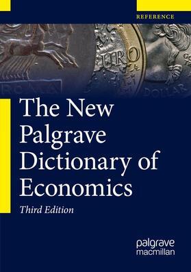 Macmillan Publishers Ltd | The New Palgrave Dictionary of Economics | Buch