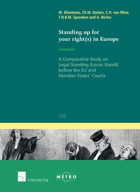 Eliantonio / Backes / van Rhee | Standing up for Your Right(s) in Europe | Buch