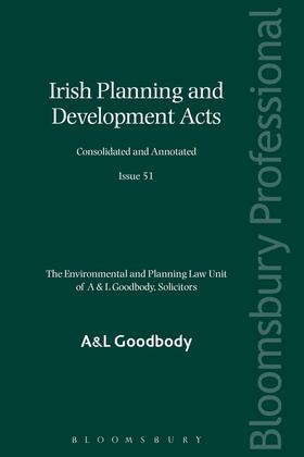 Irish Planning and Development Acts: Consolidated and Annotated | Buch