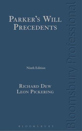 Dew / Pickering | Parker's Will Precedents | Buch
