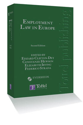 Employment Law in Europe | Buch