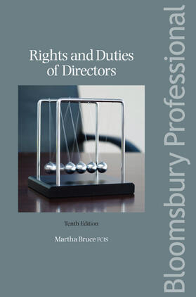 Bruce | Rights and Duties of Directors | Buch