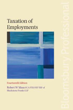 Maas | Taxation of Employments | Buch