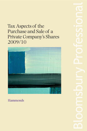 Tax Aspects of the Purchase and Sale of a Private Company's Shares 2009/10 | Buch