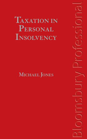 Jones | Taxation in Personal Insolvency | Buch