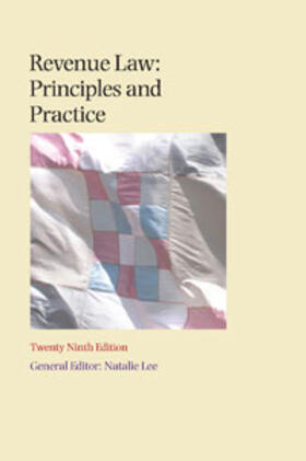 Lee | Revenue Law Principles and Practice | Buch