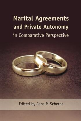 Scherpe | Marital Agreements and Private Autonomy in Comparative Perspective | Buch