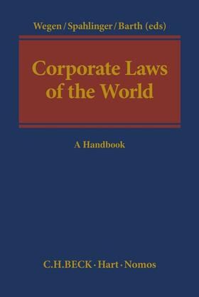 Wegen / Spahlinger / Barth | Corporate Laws of the World | Buch