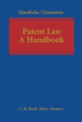 Timmann / Haedicke | Patent Law | Buch