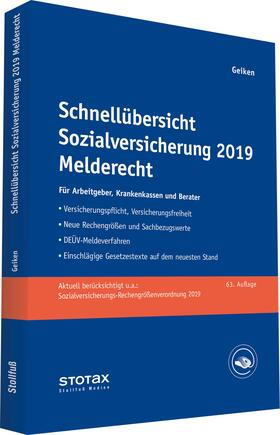 Geiken | Schnellübersicht Sozialversicherung 2019 Melderecht | Buch