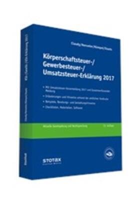 Körperschaftsteuer-, Gewerbesteuer-, Umsatzsteuer-Erklärung 2017