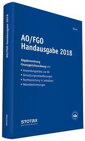 AO/FGO Handausgabe 2018