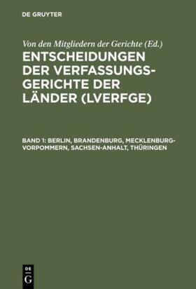 Berlin, Brandenburg, Mecklenburg-Vorpommern, Sachsen-Anhalt, Thüringen | Buch