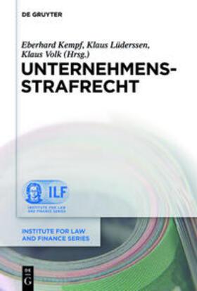Kempf / Lüderssen / Volk | Unternehmensstrafrecht | Buch