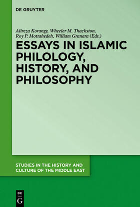 Korangy/Mottahedeh/Granara | Essays in Islamic Philology, History, and Philosophy | Buch