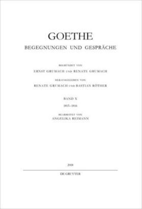 Goethe | 1815-1816 | Buch