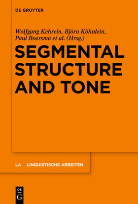 Segmental Structure and Tone