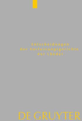 Von den Mitgliedern der Gerichte | Baden-Württemberg, Berlin, Brandenburg, Bremen, Hamburg, Hessen, Mecklenburg-Vorpommern, Niedersachsen, Saarland, Sachsen, Sachsen-Anhalt, Schleswig-Holstein, Thüringen | Buch