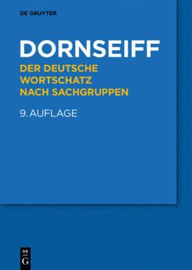 Der deutsche Wortschatz nach Sachgruppen