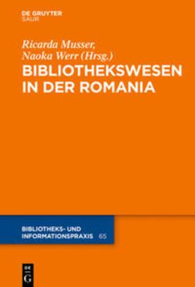 BIbliothekswesen in der Romania