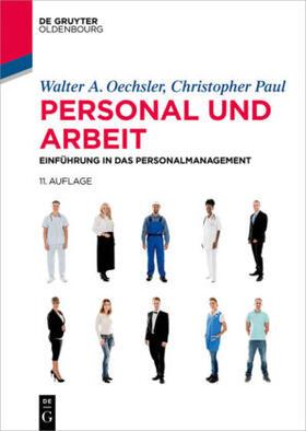 Oechsler / Paul   Personal und Arbeit   Buch