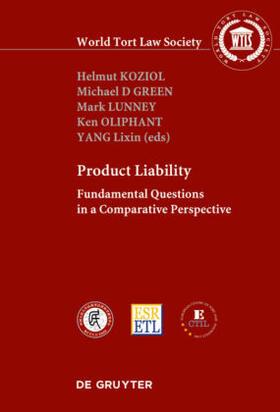 Koziol / Green / Lunney | PRODUCT LIABILITY | Buch