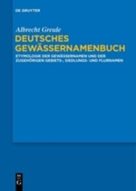 Deutsches Gewässernamenbuch