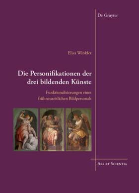 Die Personifikationen der drei bildenden Künste