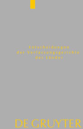 Von den Mitgliedern der Gerichte | Baden-Württemberg, Berlin, Brandenburg, Bremen, Hessen, Mecklenburg-Vorpommern, Niedersachsen, Saarland, Sachsen, Sachsen-Anhalt, Schleswig-Holstein, Thüringen | Buch