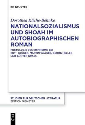Kliche-Behnke | Nationalsozialismus und Shoah im autobiographischen Roman | Buch