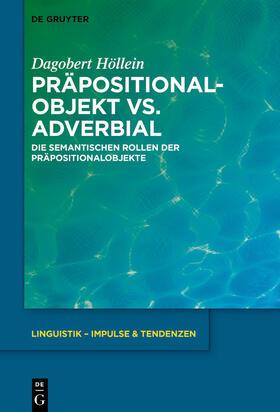 Präpositionalobjekt vs. Adverbial
