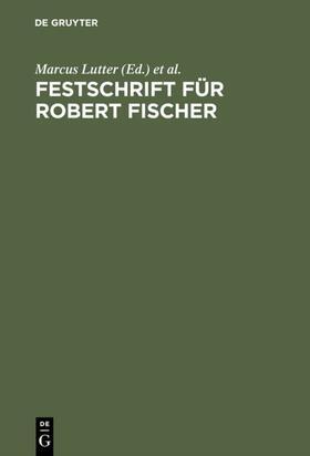 Festschrift für Robert Fischer